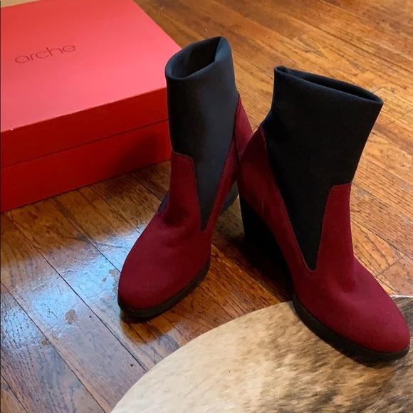 Arche Shoes | Arche Vitelo Low Boots